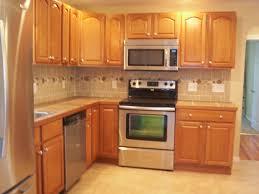 Kitchen Design Backsplash Home Accessories Traditional Kitchen Design With Oak Kitchen