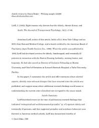 Article review paper Research Paper
