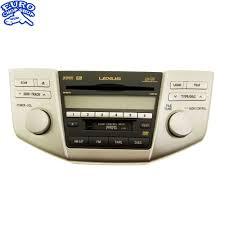lexus rx400h vs mercedes ml p1502 front dash radio satellite cd tape player lexus rx400h rx350