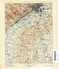 Map Nj New Jersey Topographic Maps Perry Castañeda Map Collection Ut