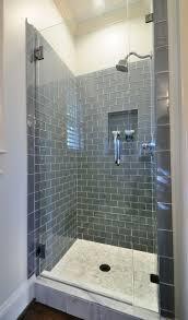 shower corner shower stalls stunning one piece shower stall with