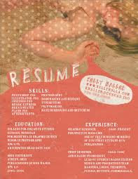 Examples Of Creative Resumes by 39 Fantastically Creative Resume And Cv Examples