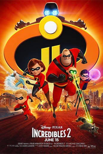 Incredibles 2 (2018) New DVDScr HQ Line 1.5GB [Tamil-Telugu-Hindi-Eng] MKV