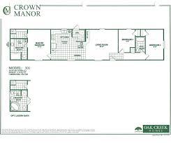 oak creek homes single wide floor plans