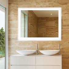 dyconn royal 36 in x 30 in led wall mounted backlit vanity
