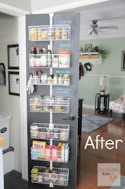 Kitchen Pantry Shelving Ideas by Pantry With Doors Pantry Doors Hanging Door Pantry Organizer