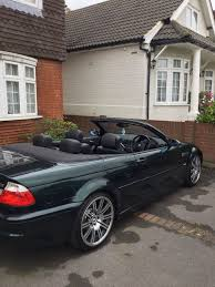 bmw m3 convertible rare oxford green 6 speed manual in romford