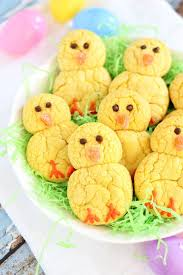 Halloween Cake Mix Cookies by 13 Easy Easter Cookies Best Recipes For Decorating Easter