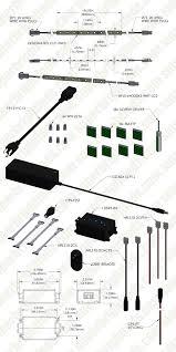 under cabinet led lighting kit complete led light strip kit for