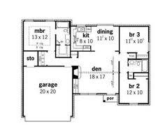 Small House Floor Plan by Simple Rambler House Plans With Three Bedrooms Small Split