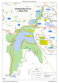 Ohio State Parks Map Cherry Creek Trail Coloradobikemaps
