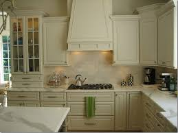 kitchen subway tile backsplash ideas with white cabinets rustic