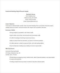 Banker Resume Example by Banking Resume Templates In Word 22 Free Word Format Download