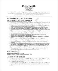Customer Service Resume Example   Free Word  PDF  PSD Documents