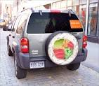STRANGE BUSINESS ADVERTISING - SPARE WHEEL COVER FOR JEEP SUV ... strangecosmos.com