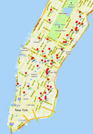 Map New York City by New Yorkers Here U0027s A Map Of Where You Can Charge Your Smart Phone