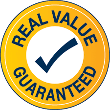 Real value guaranteed