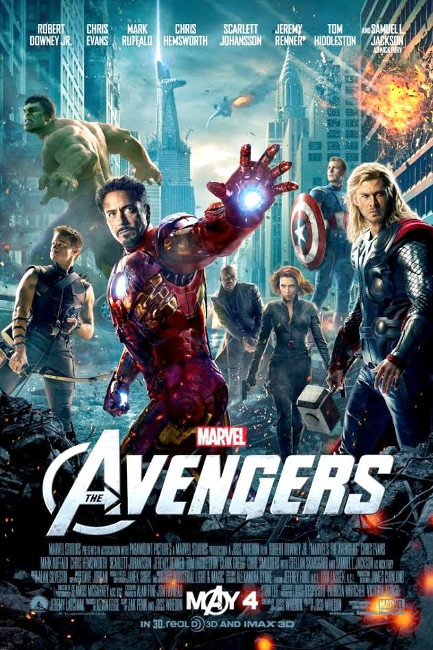 The Avengers 2012 BluRay 720p 890MB ( Hindi – English ) ESubs MKV