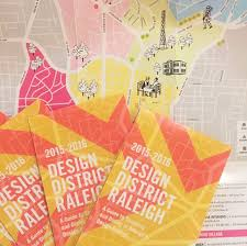 Raleigh Map The Design District Raleigh Map Where To Get A Copy