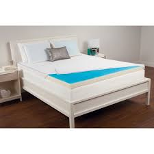 15 cooling gel memory foam mattress pad bedding and bath sets