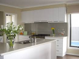 Stainless Steel Kitchen Furniture by Painted Kitchen Cabinets With White Appliances And Wall Mounted