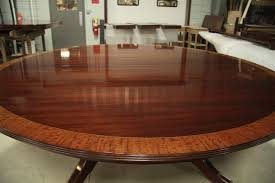 12 Foot Dining Room Tables Custom American Made 84 Inch Round Mahogany Dining Table