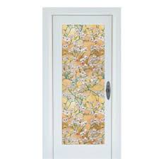stained glass door film buy stained glass film from bed bath u0026 beyond