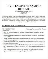 Civil Engineering Resume Samples by 25 Best Engineering Resume Templates Free U0026 Premium Templates