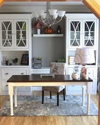 Best  Dining Room Office Ideas On Pinterest Home Office - Family room office