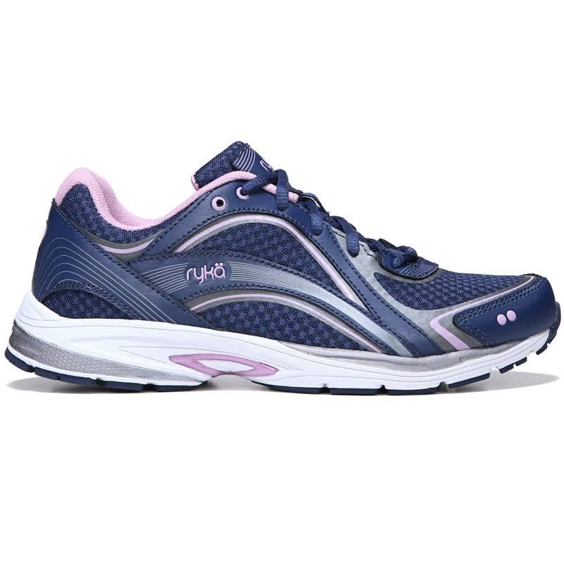 Ryka Skywalk Shoes, Wide Blue, 9
