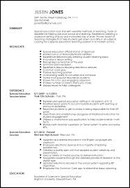 Teaching Resume Samples Volumetrics Co Prt Teacher Resume Samples  Teacher Resume Examples      Special Education Teacher     Online Resume Builders