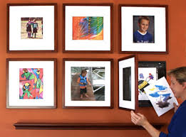 10 DIY ways to display childrens artwork