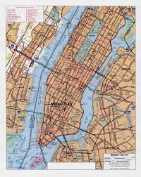 Map New York City by Geography Blog Maps Manhattan New York City