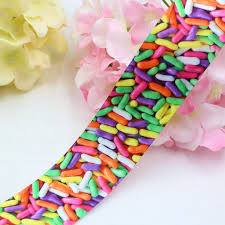 online shop 1641305 38 mm candy sweet series printed ribbon craft