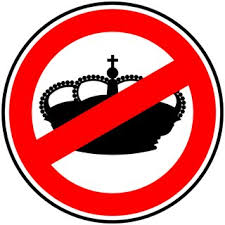 ¡Abajo la monarquía!