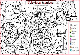 66 dessins de coloriage magique à imprimer sur laguerche com page 6