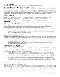 marketing and communications director resume sample with core     Dawtek Resume and Esay