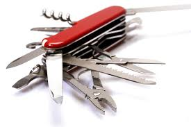 is a swiss army knife the best solution everseat