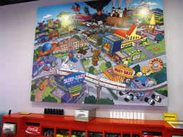 Orlando Universal Studios Map by From Men In Black To Springfield Usa The Sci Fi U0026 Silly Details