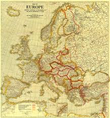 Map Of 1914 Europe by Of Europe Showing The Countries Established By The Peace