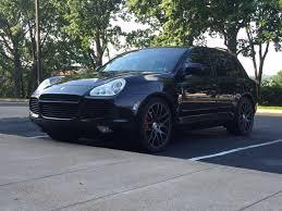Porsche Cayenne Black - 2004 porsche cayenne turbo 80k black on black rennlist porsche