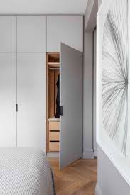 best 25 bedroom cupboards ideas on pinterest built in wardrobe a bedroom closet wrapped in fabric
