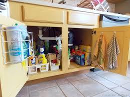 Ingenious Kitchen Organization Tips And Storage Ideas - Kitchen sink cupboards