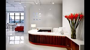 Professional Office Decor Ideas by Awesome Reception Office Design Ideas Youtube
