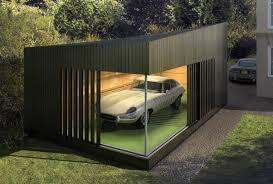 large design of the garage interior design with modern design of