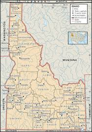 County Map Of Colorado State And County Maps Of Idaho