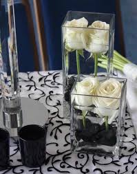 Silver Centerpieces For Table Best 25 Black And White Centerpieces Ideas On Pinterest Striped