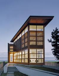 simple design glass and stone home s exotic ultra modern house
