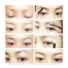 korean style colours on your face pinterest eyebrow perfect