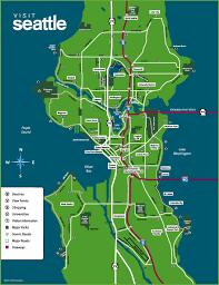 Map Of Boston Neighborhoods by Seattle Neighborhood Map